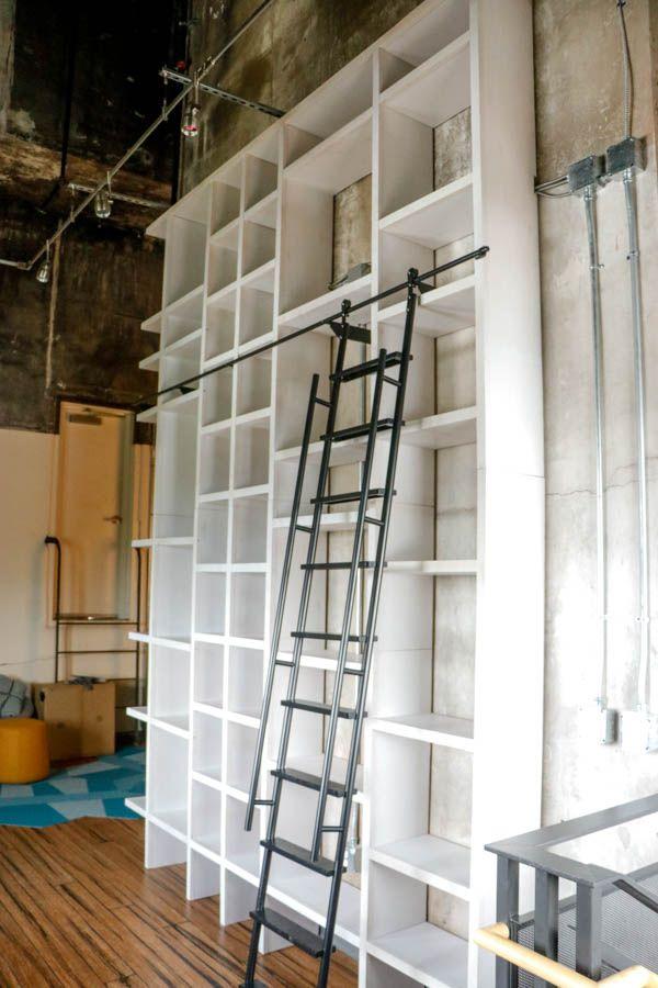 DIY Woodworking Ideas Giant Bookshelf Final