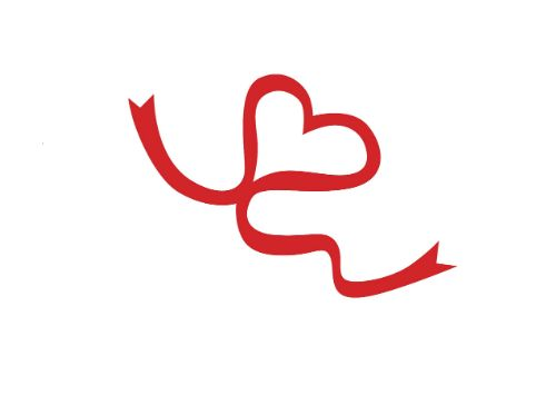AIDS Red Ribbon Tattoo Set