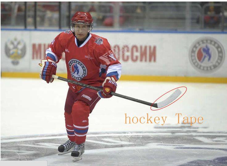 2 Kain Gulungan Kain Es Hockey Tape untuk Olahraga (25mm x 22.5 m)