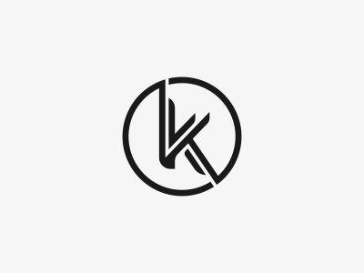 K Logo Mark Design