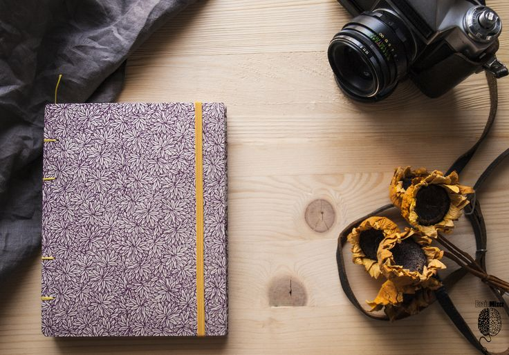 Beautiful #floral #notebook, by #brainmixer