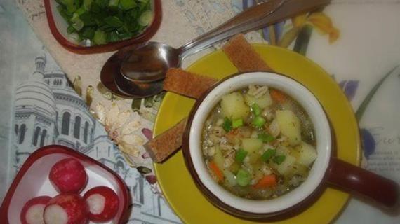 Постный рассольник с перловкой. Пошаговый рецепт с фото, удобный поиск рецептов на Gastronom.ru