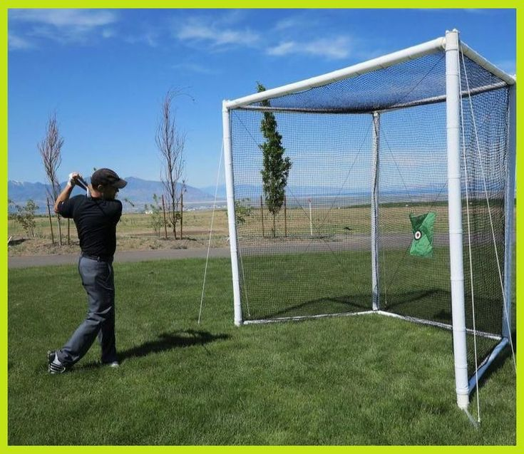 Turn your backyard into a driving range with this full ...