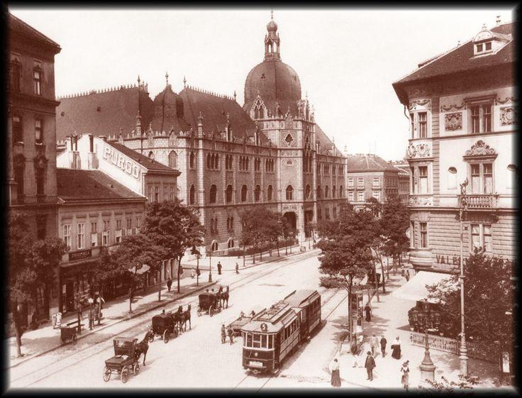 budapest 1900 | Budapest - Üllői út 1900 poszter