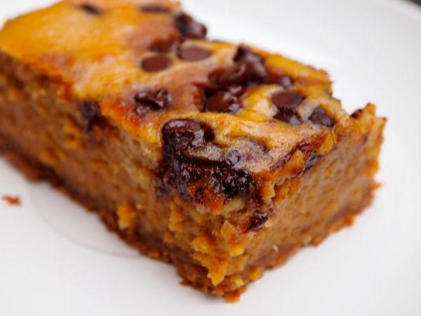 100-calorie Pumpkin Pie Dessert Bars: An easy-to-make, low-cal treat that you ge