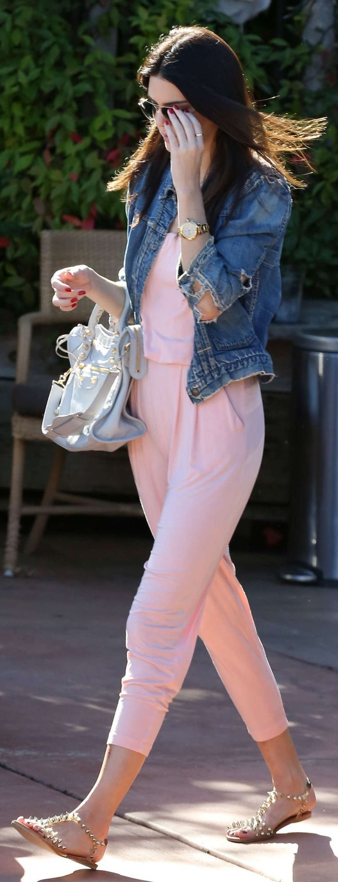 Pink Relaxed Jumpsuit by