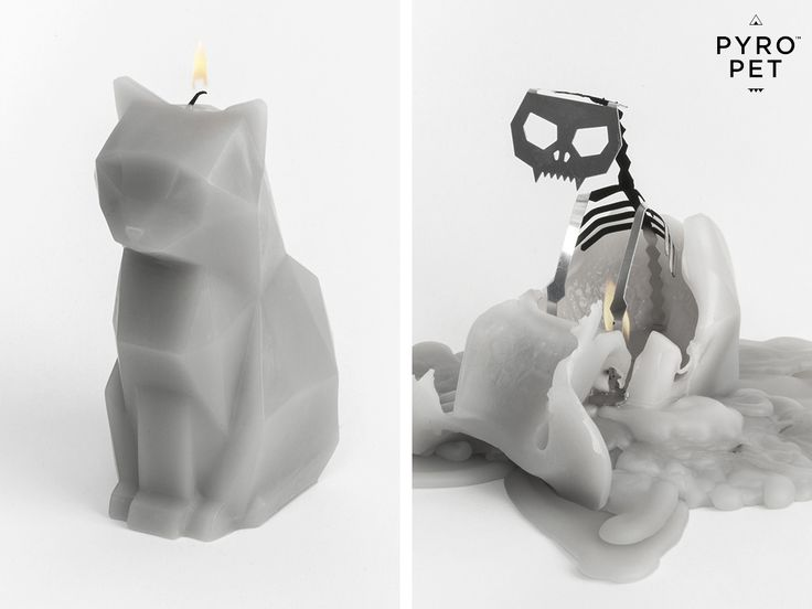 PyroPet Candle Cat