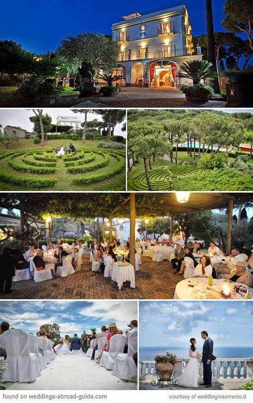 Oasi Olimpia Relais is a luxury boutique hotel located in Sorrento, offering elegance and selected service making it an ideal venue for a wedding in Italy.