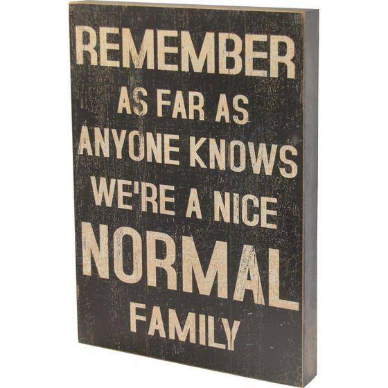 Normal Family Block