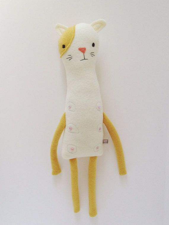 Plush Nipple Kitty Friend- Finkelstein's Center Handmade Creature