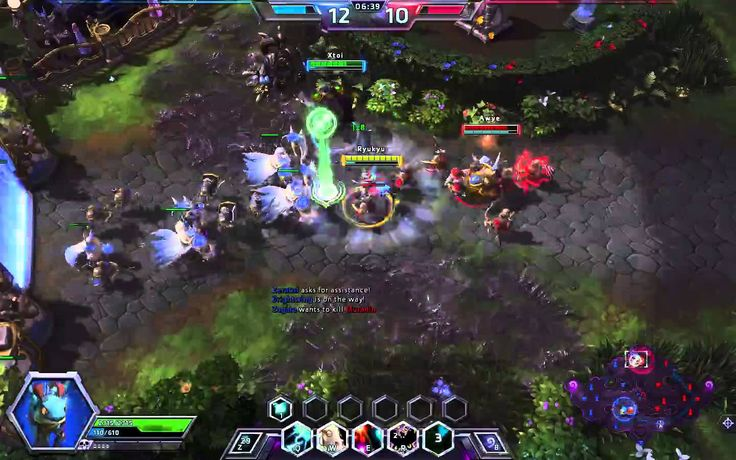 Heroes of the Storm - Brightwing Gameplay #4
