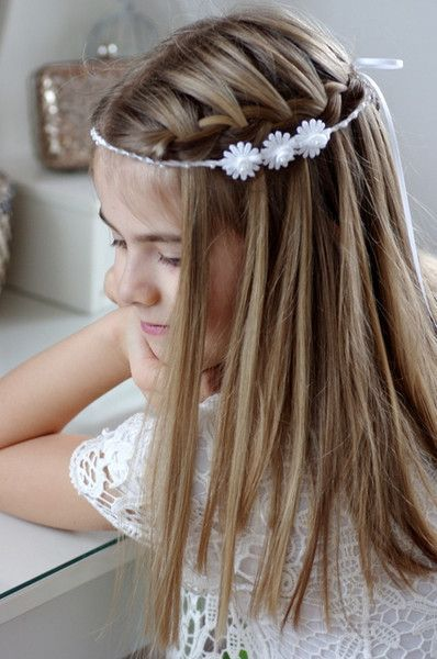 Others – Hair band for communion, hair accessories, hair ring – a designer piece … – Communion hair accessories – # Designer piece #on #hairband #hairrin …