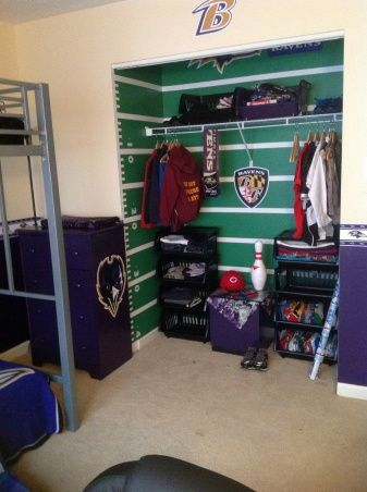 243 Best Sports Themed Rooms Images On Pinterest