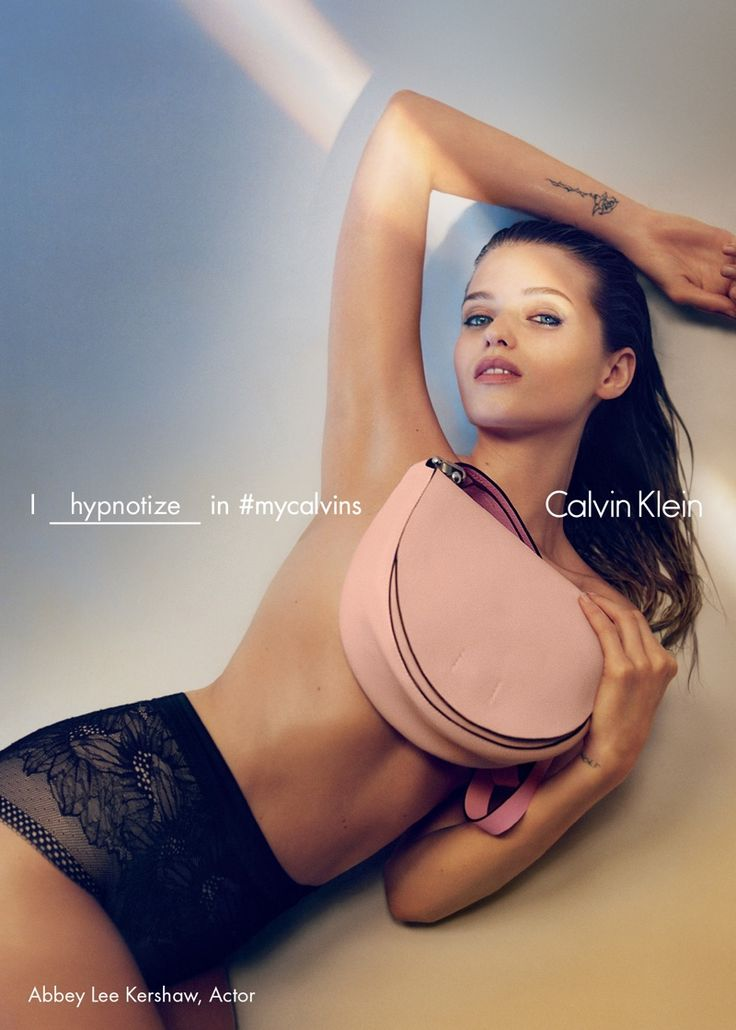 Abbey Lee Kershaw stars in CALVIN KLEIN Spring 2016 Ad Campaign | via www.orientsystem.com