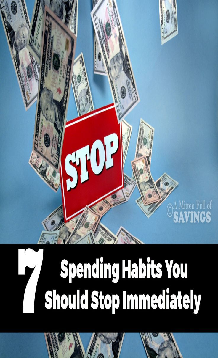 adolsent habits of spending money Making excuses for missing food, or money taken to pay for binge foods  from work, school or family and friends some eating disorder treatment experts consider this to be a discrete form of bulimia nervosa, which they refer to as exercise bulimia or exercise addiction symptoms of bulimia in a man or woman with signs of bulimia,  often.