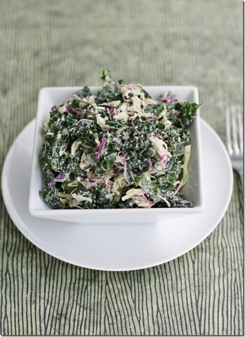 RAW FOOD - Kale-Slaw: Dinosaur Kale and Cabbage Slaw with Creamy Cashew Hemp Dressing - Liver cleansing diet raw food recipes - Learn how to do a liver flush https://www.youtube.com/watch?v=e2SxDemOO54 I LIVER YOU