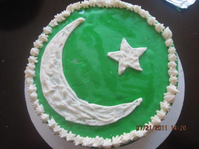 Pakistan Independence Day cakes | Pakistan Birthday cake