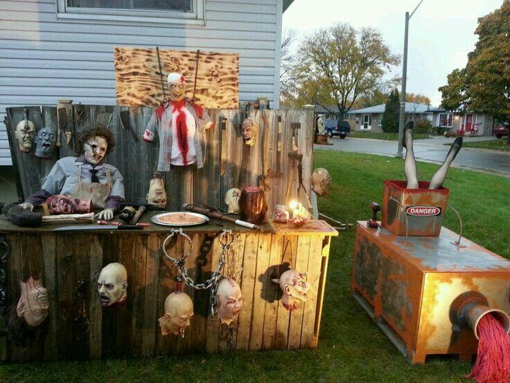 chop shop and meat grinder