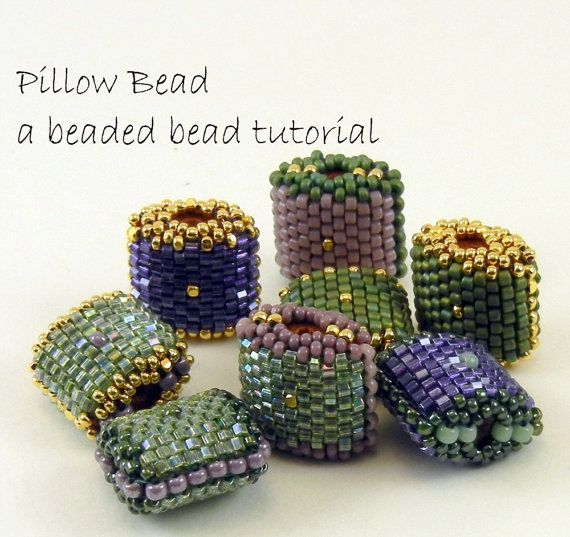 Peyote Stitch Pillow Bead