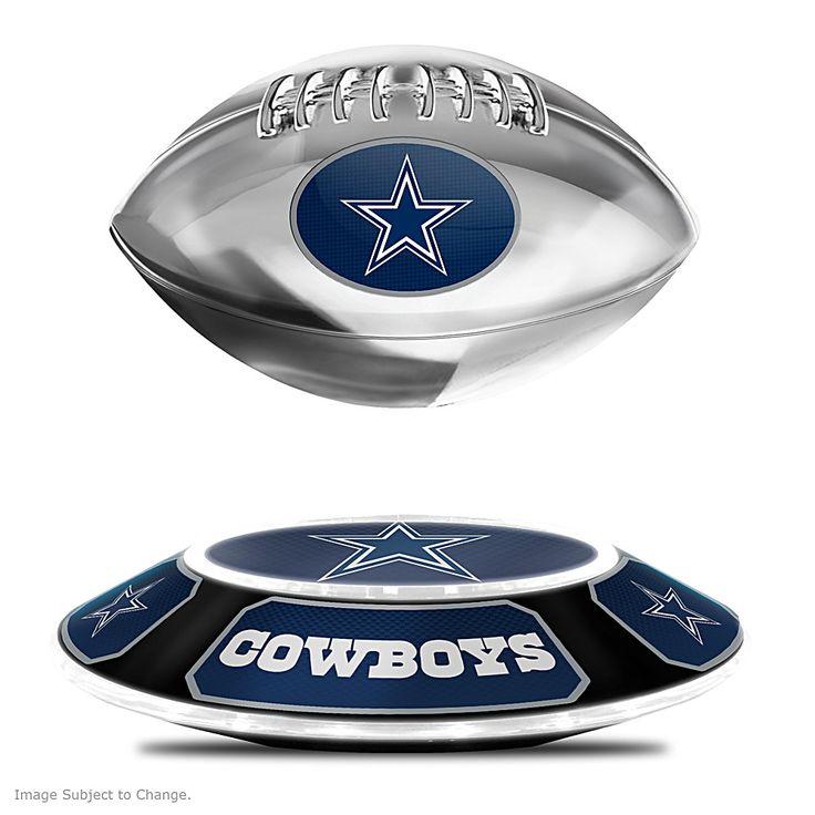 127758001 - Cowboys Levitating Football Lights Up And Spins