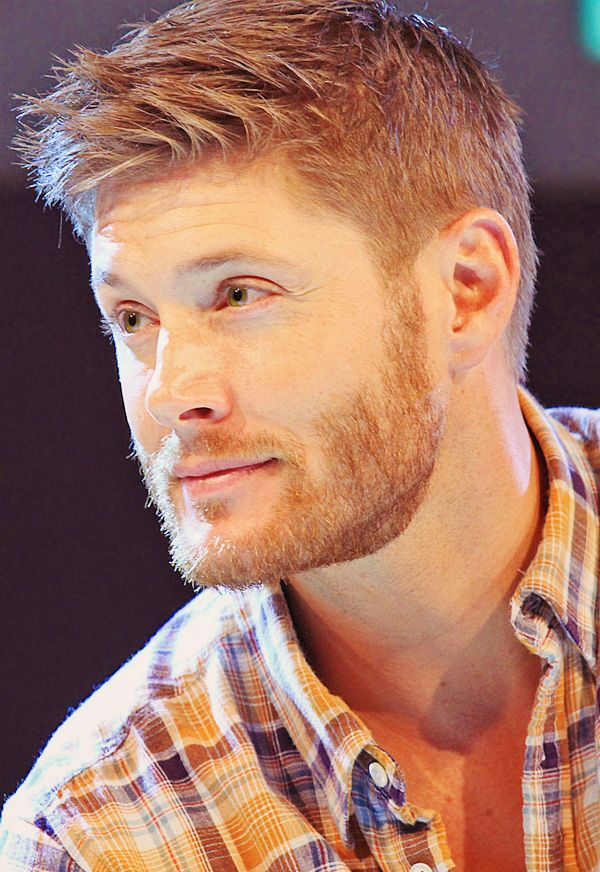 A ginger Jensen Ackles. Holy crap...this should be illegal O.O  Ginger Dylan O'Brien, please!