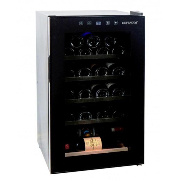 #винный #холодильник #Cavanova CV0028С Цена 69000 рублей Компактный и эргономичный винный шкаф Cavanova CV028C имеет компрессорную систему охлаждения, что позволяет ему быть очень энергоэкономным. Металлические выдвижные полки, тонированное стекло и стальная рама составляют современный дизайн шкафа. Он станет прекрасным дополнением кухни или гостиной в стиле хай-тек, который обеспечит безопасность любимой коллекции напитков.  Купить…