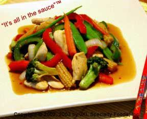 -Chinese Style Chicken With Vegetables - Chinese cooking recipes can be hard to find and this is a recipe that hasn't been publish on-line to my knowledge. It is very simple and requires only a little preparation time.