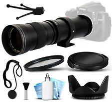 420mm-800mm f/8.3 HD Super Telephoto Lens for Sony SLT-A77 II SLT-A58 SLT-A99