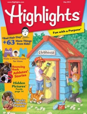 Highlights™ magazine for Children 6 - 12 | Kids Magazine - I read these in doctors' offices. They're much more enjoyable than adult magazines.