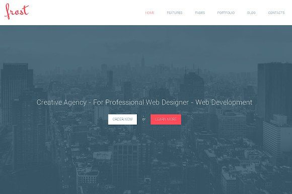 Frost Responsive Bootstrap Theme Theme Design Web Themes
