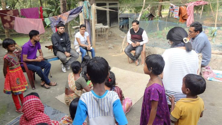 Team ARGOBBHAWVA visited Arampur village in Sunderban area under Gosaba Gram Panchayat on 27th December 2016 for inspection and to check the various possibilities of improving the living standards of the underprivileged through various livelihood programmes!