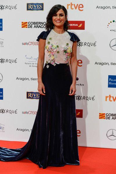 Elena Sanchez attends the 23rd edition of Jose Maria Forque Awards at Palacio de Congresos on January 13, 2018 in Zaragoza, Spain.