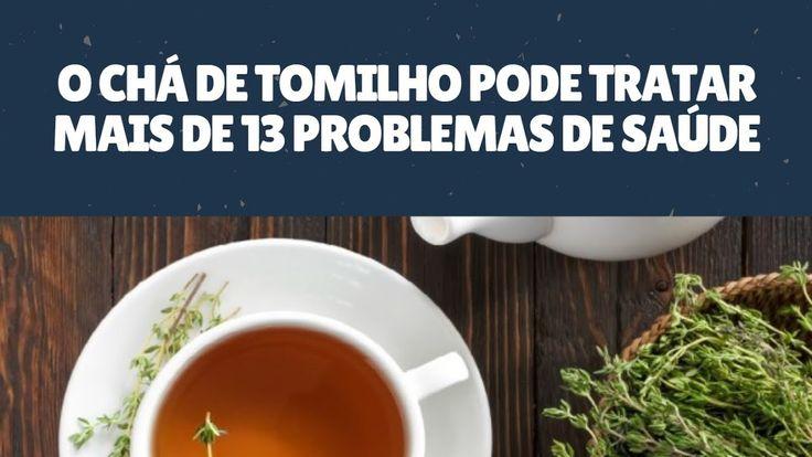 O Chá de Tomilho Pode Tratar Mais de 13 Problemas de Saúde
