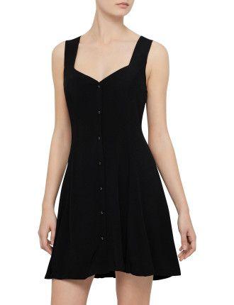 Choose Change Buttondown Dress | Mink Pink