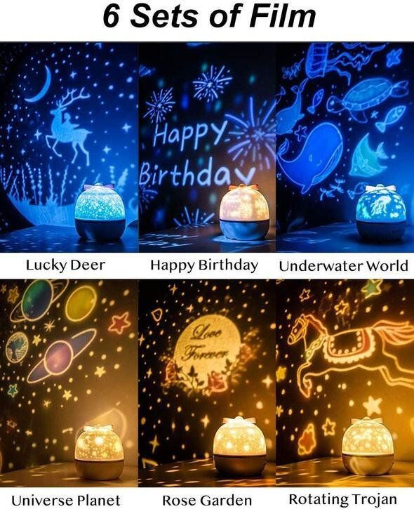 Pin By Cindee Reynolds On Gifts In 2020 Night Light Projector Starry Night Light Star Night Light