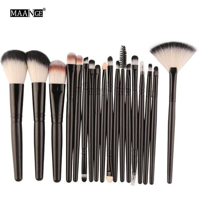 Item Type: Makeup Brush Size: app.13.5-18.9cm Brand Name: MAANGE Brush Material:…