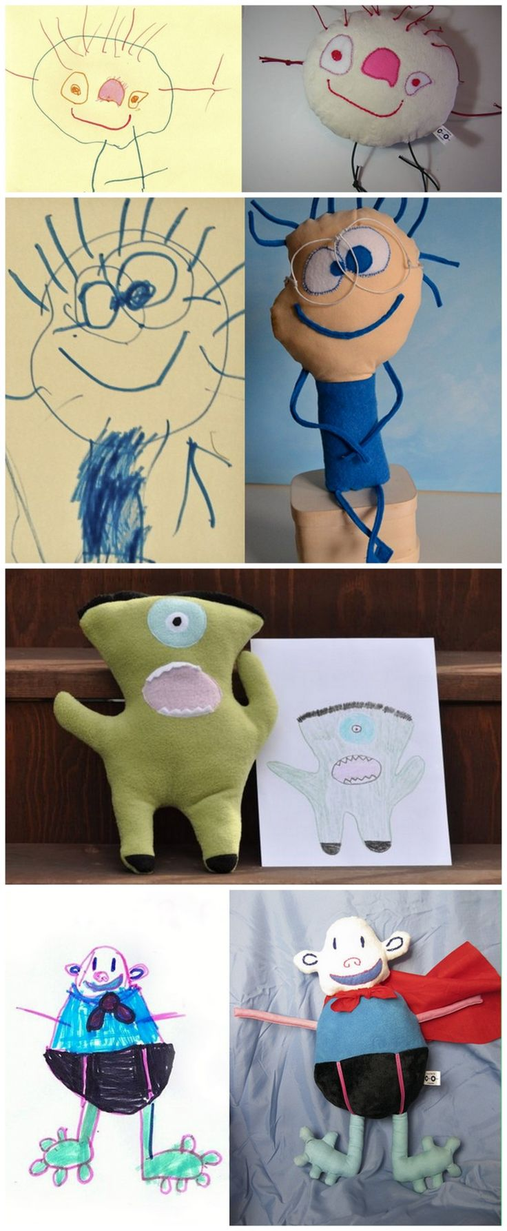 Kids love seeing their drawings come alive