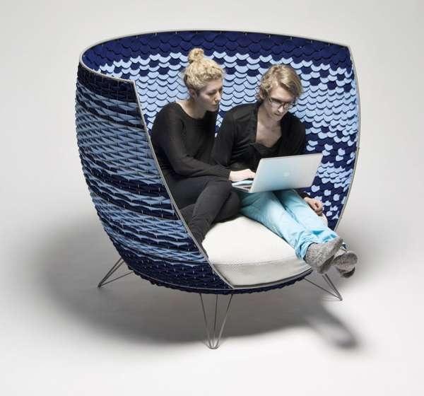 Created by Swedish designer Ola Gillgren, the Big Basket Chair