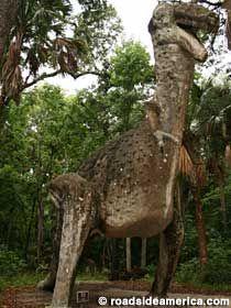 Ruins of Bongoland in Port Orange, Florida