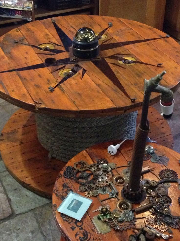182 best images about Steampunk coffee table inspiration on Pinterest |  Compass tattoo, Steam punk and Repurposed - 182 Best Images About Steampunk Coffee Table Inspiration On
