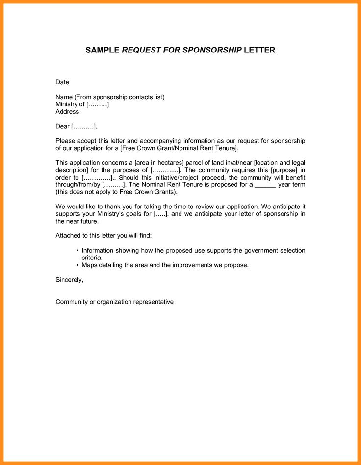 authorization letter bir sample printable letters format request - format of sponsorship letter
