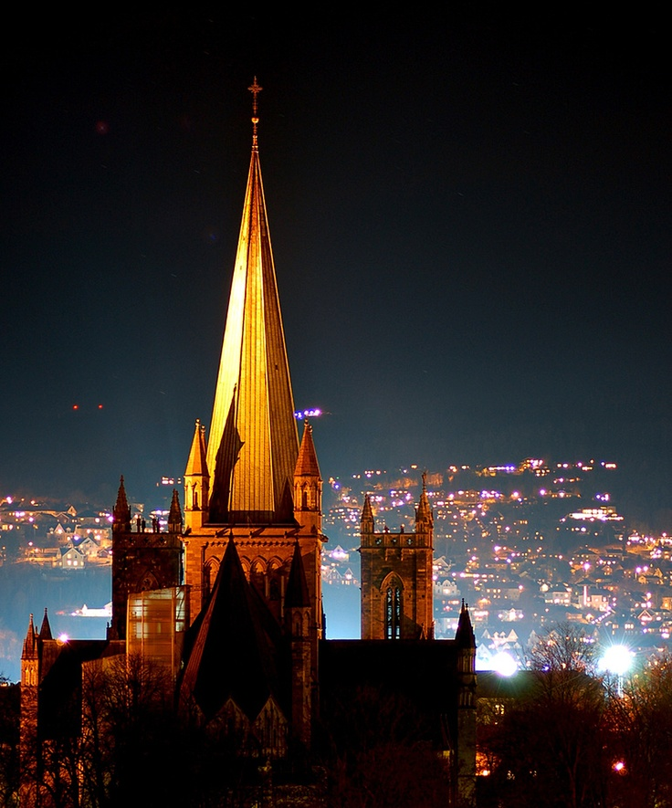 Cathedral in Trondheim, Norway. Martin Eian