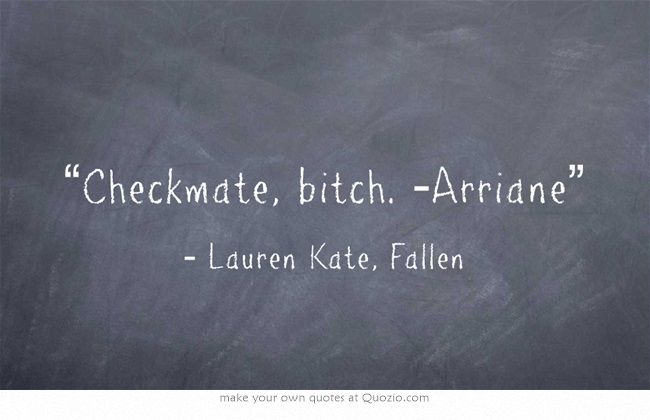 Fallen - Lauren Kate Quote: