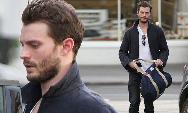 Jamie Dornan steps out after confirming Fifty Shades sequel for £4.5m