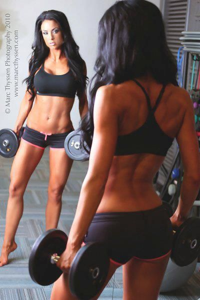 My personal trainer asked me to look for a picture of my goal, this is totally it! :) good luck me :)