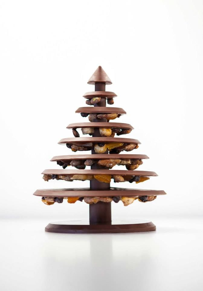 Alain Ducasse - chocolate tree...