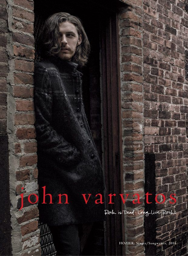 John Varvatos Fall Winter 2016.17 Campaign Starring Musician Hozier