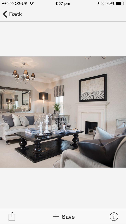 Cranleigh: Modern Country Home   Farmhouse   Living Room   South East    Alexander James Interiors