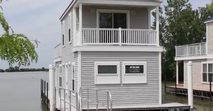 Imagine being able to sleep right on Lake Erie each night in one of these unique getaways.