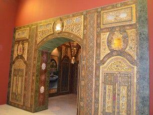 Farmácia Islâmica A farmácia islâmica do Império Otomano existia no interior de un palácio de Damasco, na Síria